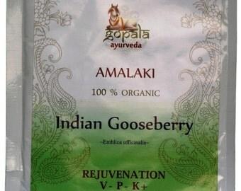 Amalaki Powder  (USDA Certified Organic) - Gopala Ayurveda