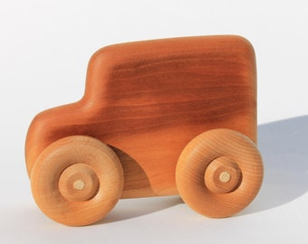 Wooden Jeep Hand Made from Cherry or Maple Great Children's Gift