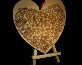 Heart Word cloud