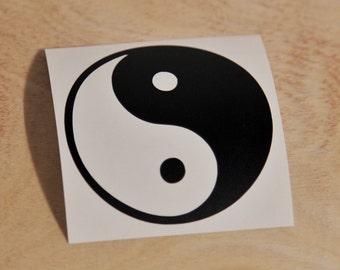 Ying Yang Symbol Car Laptop iPhone Vinyl Decal Sticker