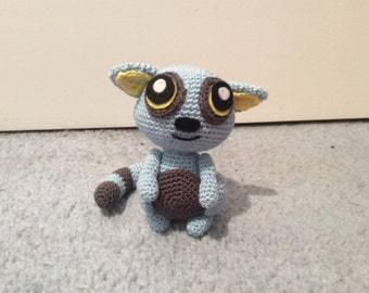 Crochet Lemur plush