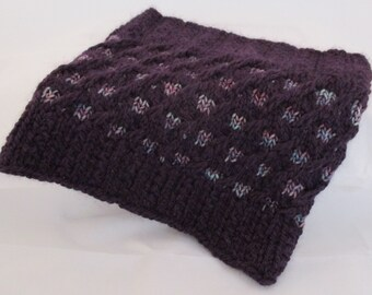 Magic Mosaic Cowl Knitting Pattern