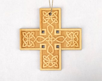 Celtic Cross (#5) Christmas Ornament