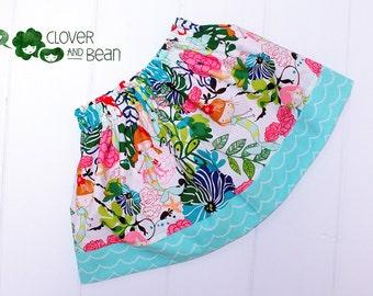 Mermaid Skirt - If I Were a Mermaid Skirt - Toddler Mermaid Skirt - Baby Mermaid Skirt