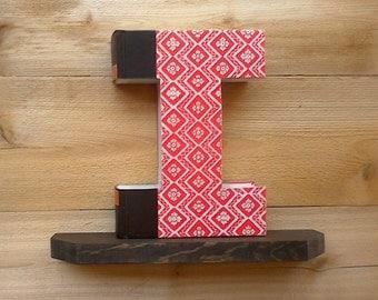 Book letter i 235 ady made letter cut book book letter i 238 ady made spiritdancerdesigns Images