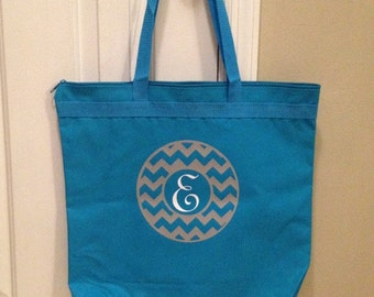Personalized Large Tote Bag