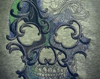 Urban women's candy skull shirt gothic