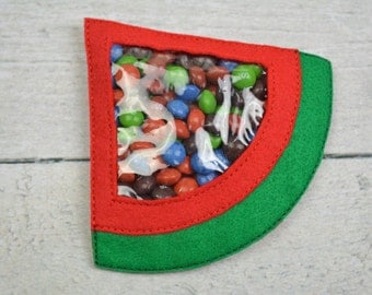 Large Watermelon Candy Pouch