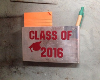 School locker storage gear, organization tool - custom and exclusive! Class of 2016