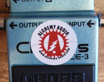 Modify your Boss CE-3 Chorus Effects Pedal Mod! Alchemy Audio Modification Service.