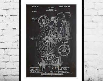 Bicycle Print, Bicycle Poster, Bicycle Patent, Bicycle Decor, Bicycle Art, Bicycle Blueprint, Bicycle Wall Art, Bicycle Gifts p051