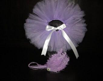 Lavender newborn tutu, lavender baby tutu, lavender infant tutu