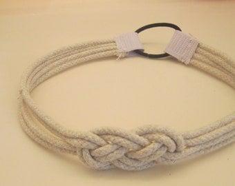 Nautical Rope Knot Headband