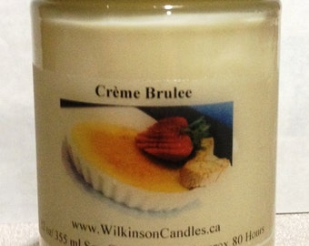 12 oz 100 % Soy Wax Candle