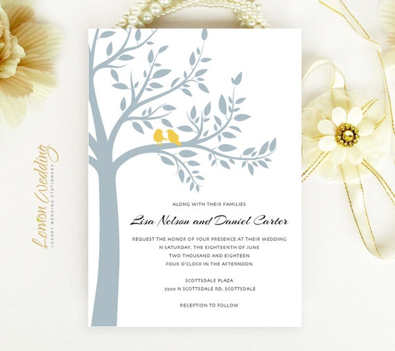 Cheap Cardstock For Wedding Invitations : ... on shimmer cardstock Love bird wedding theme Cheap invitations