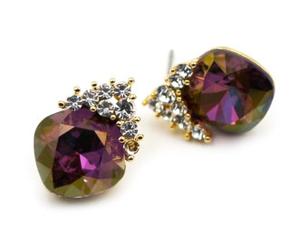lovely cute crystal earrings