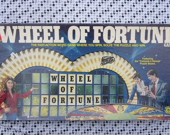 Wheel of Fortune-1985 by Pressman-Replacement Crayon-Complete