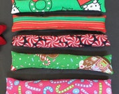 Catnip Kicker Cat Toys Holiday Christmas Gift Medium Red Green Pink 7 Inches
