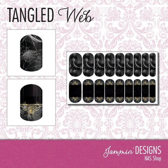Tangled Web NAS (Nail Art Studio) Design