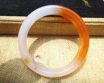 natural agate bracelet (inner diameter 58mm)