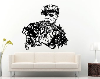 Rap Hip Hop Urban Legend Super Star Famous Celebrity Wall Decal Vinyl Sticker Mural Room Decor L922