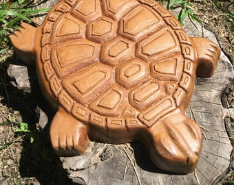 Concrete Mold to make a Turtle Stepping Stone Mold Concrete Cement Mould  garden path decorations.