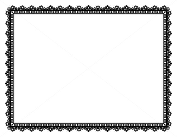 Decorative Frame Page Border Digital Frame Border Paper