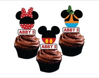Disney cupcake toppers (24)