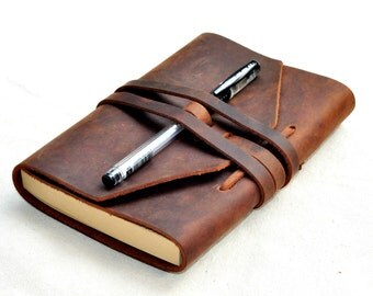 Handmade Wedding leather Guestbook Journal wedding guest book Leather notebook, leather journal,travel journal, Free Personalized stamp