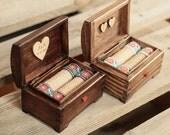 Personalized wedding ring box. Rustic wooden ring box. Rustic ring holder with folk ribbon. Ring bearer. Folk wedding. Country wedding.