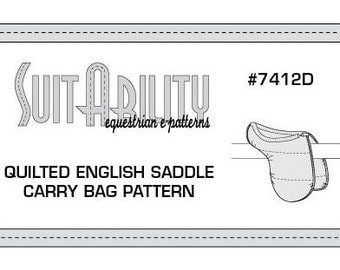 PDF Quilted English Saddle Carry Bag