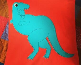 """T-Rex cushion 14x14"""""""