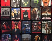 Horror Iron On Patch FREE SHIPPING! Punk Metal Goth Rockabilly Psychobilly