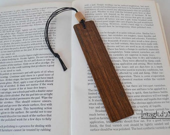 Handmade Rosewood wooden bookmark