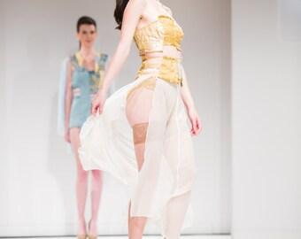 Lingerie Set - Marie Antoinette - Versailles Bustier/Garter Belt/Skirt Set (4/6)