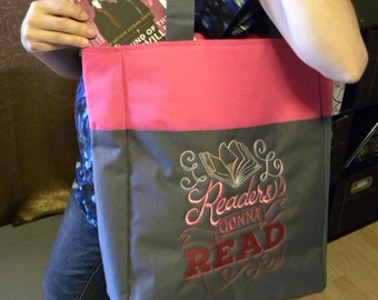 Readers Gonna Read - Embroidered Bag