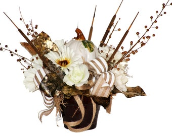 White Fall Arrangement