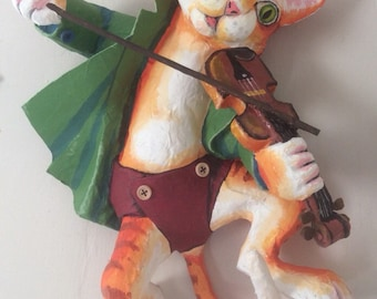 The Cat and the Fiddle wall art
