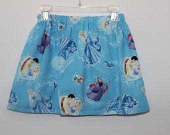 Cinderella Skirt Girls Skirt - Light Blue Cinderella Skirt Clothing