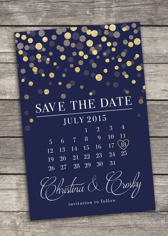 Save the date printable digital for Electronic save the date templates