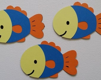 Fish Die Cut set of 3