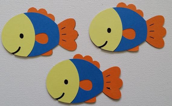 Fish Die Cut Set Of 3