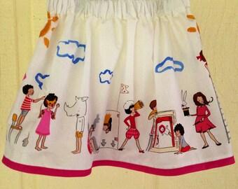 Kids at Play Skirt