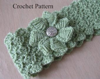 Headband Pattern, Headband Crochet Pattern, Crochet Headband Pattern
