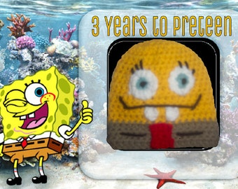 Spongebob Hat or Beanie (3 to 12 Years)