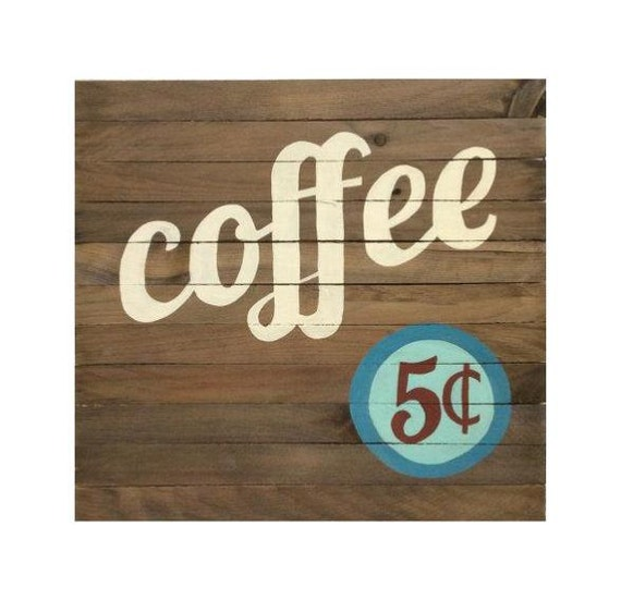 Kitchen Coffee Signs: Coffee Sign Kitchen Decor Coffee Bar Sign By Theurbanottershop