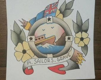 Sailor Jerry inspired Sailors Grave