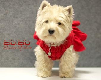 Dog wedding dress, dog clothes birthday, linen dog dress, dog wedding gown, dog tutu, wedding, dog gown, handmade dog clothes, custom fit