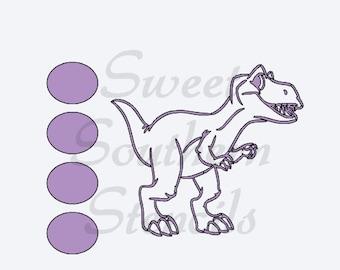 PYO Dino Cookie Stencil