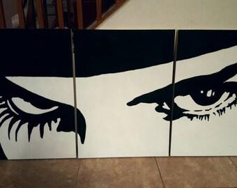 Clockwork Orange: Alex Eyes